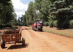 Tractor in Kenya