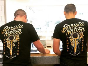 Black Barista Nation T-Shirt